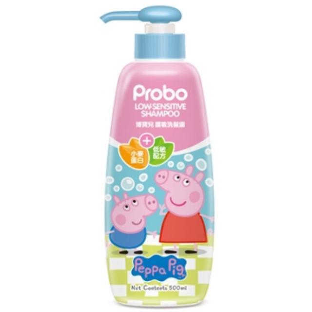 💞博寶兒💞護敏洗髮露500ML-佩佩豬   🍀適合寶寶與兒童的植物型胺基酸洗淨成份   🍀清潔柔嫩細緻的頭皮,不傷害原生油脂膜添加水解小麥蛋白  🍀歐洲天然組織ECOCERT認證的PCA天然保濕因子   🍀滋養纖細髮絲,彈力柔順光澤,維持頭髮健康  🍀好沖好洗,12歲以下嬰幼兒童均適用