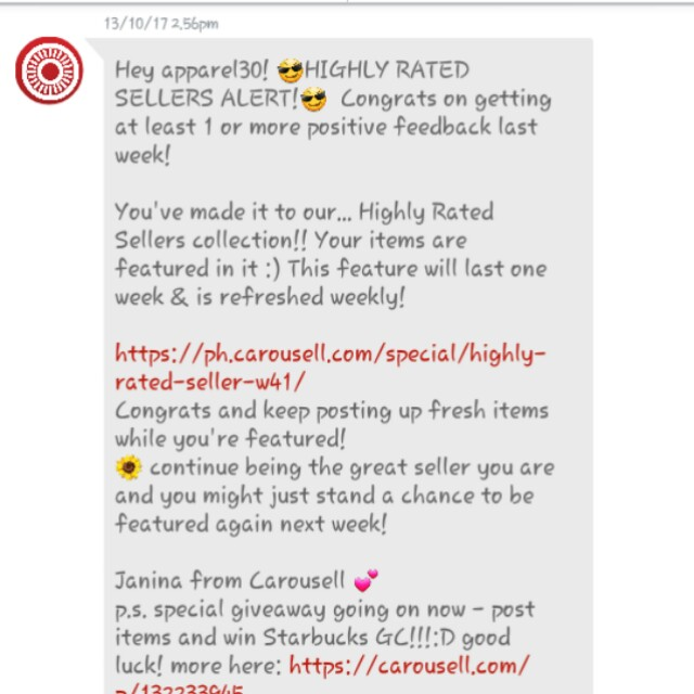 5th time! Highly Rated Seller 💚✔😙