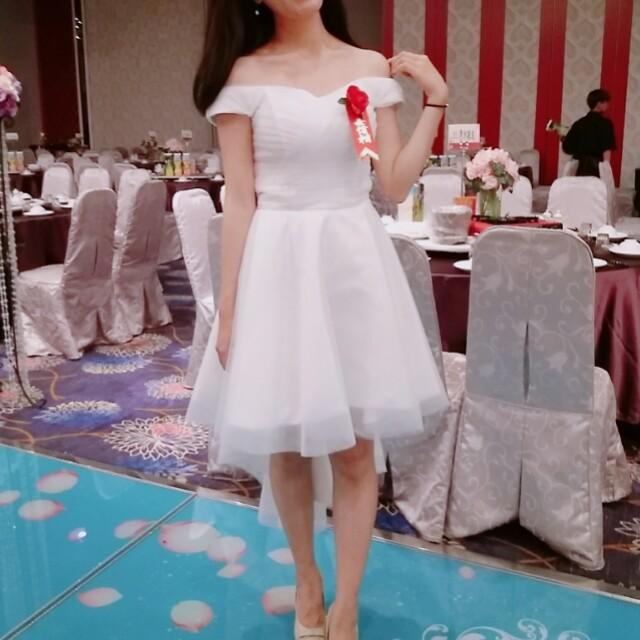 穿一次超有質感類婚紗伴娘服禮服晚宴服正式服裝氣質洋裝 #我的女裝可超取