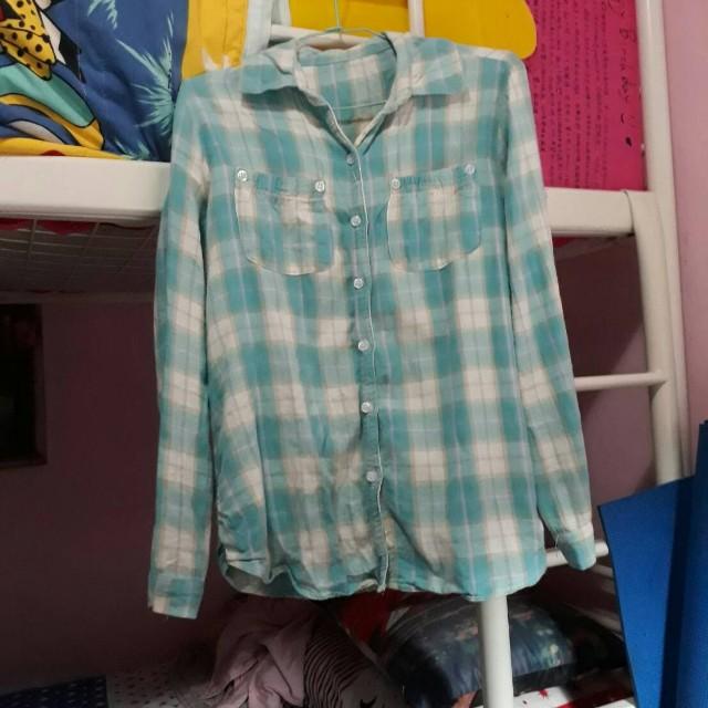 藍白格紋襯衫可議價 #手滑買太多 #我的女裝可超取