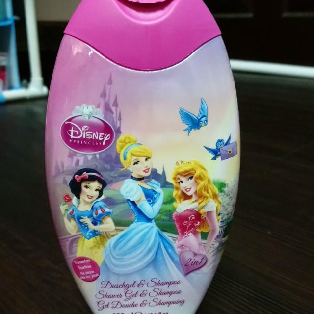 💝迪士尼 公主系列 洗髮、沐浴二合💝