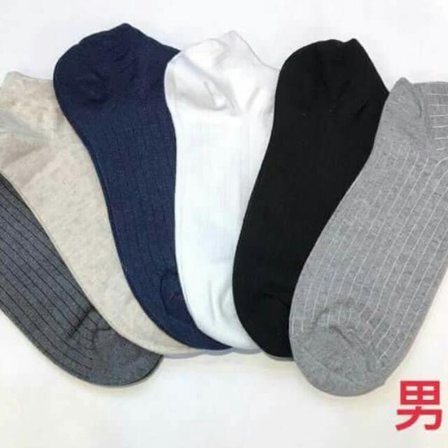 正韓小精品 基本款 素色 短棉襪