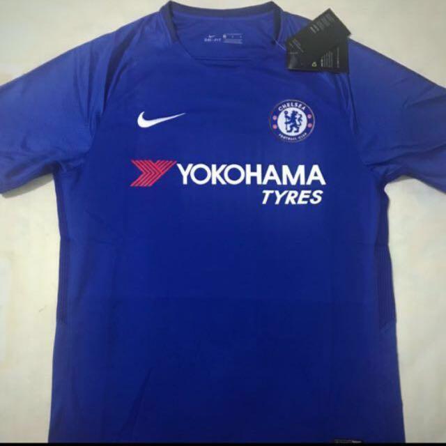 6408d681d6a 🆕 Chelsea FC Home Jersey Season 17 18