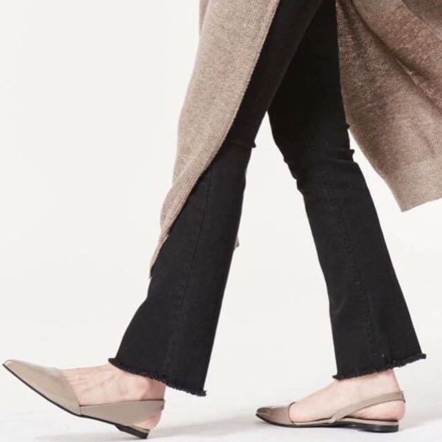 小安 nude 鞋子 平底鞋 23.5