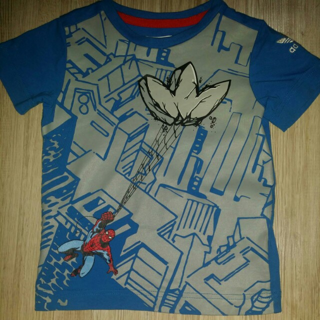 Babies 24 Spiderman Boys Mths Kids Shirt amp; 18 Adidas Marvel T qPaw0ZR