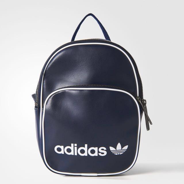 c8c9656b857 Adidas Originals Classic x Vintage Mini Backpack in Legend Ink