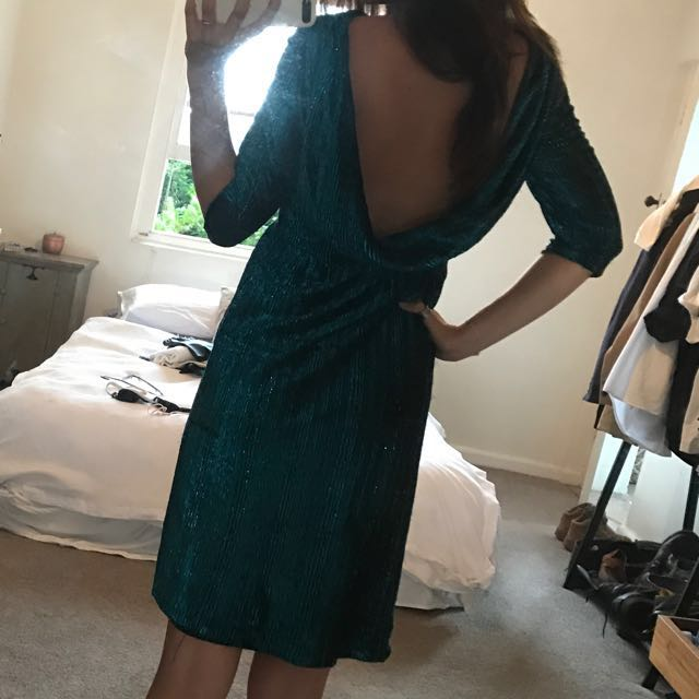 Amazing Blue Vintage Dress
