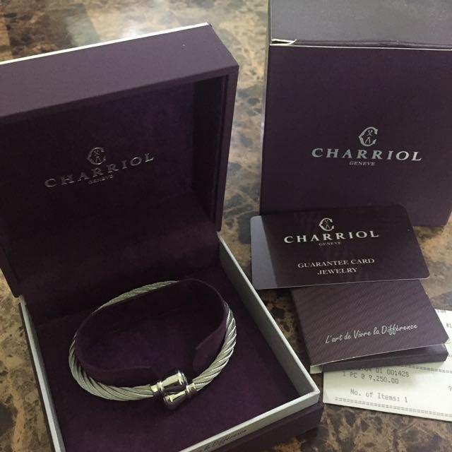 Authentic Charriol Bangle Bracelet