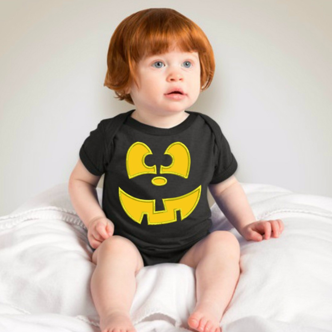 Baby Halloween Onesies - Black
