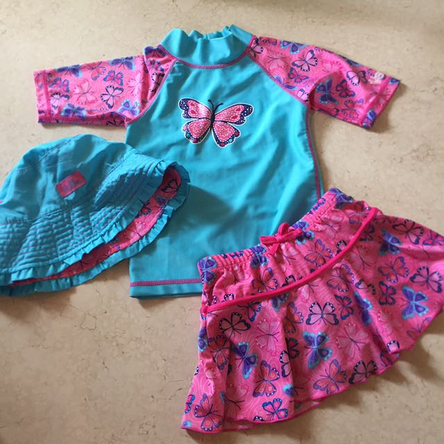Baju renang swimsuit anak girl set