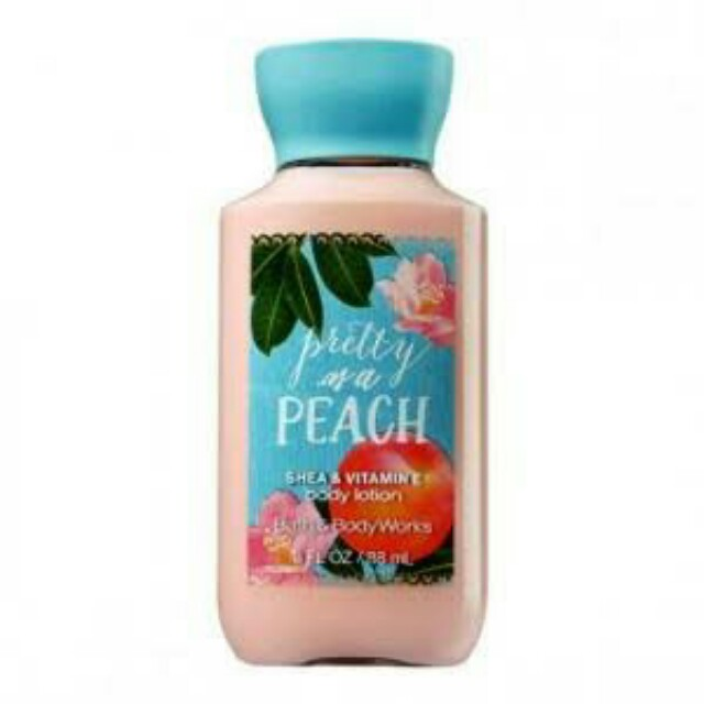 Bath and Body Works Pretty as a Peach Body Lotion Travel size