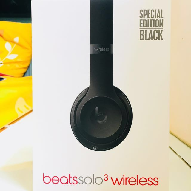 beats solo 3 wireless headphones special edition