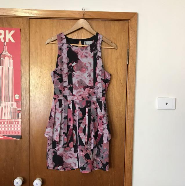 Bettina Liano designer size 10 cocktail wedding dinner party race dress