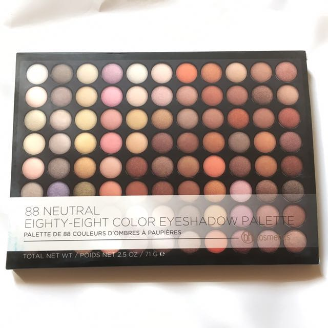 BH Cosmetics 88 Neutral Color Eyeshadow Palette