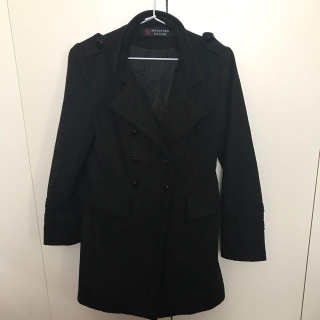 Black coat Sze xs
