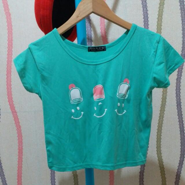 blouse crop