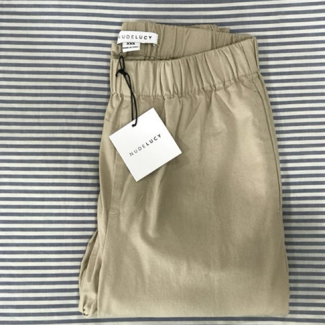 BRAND NEW Nude Lucy - Sand Chino Pant