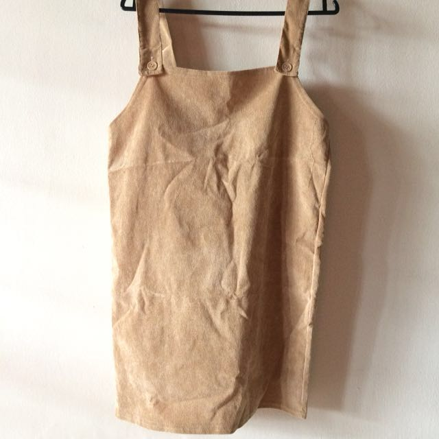 Brown Pinafore
