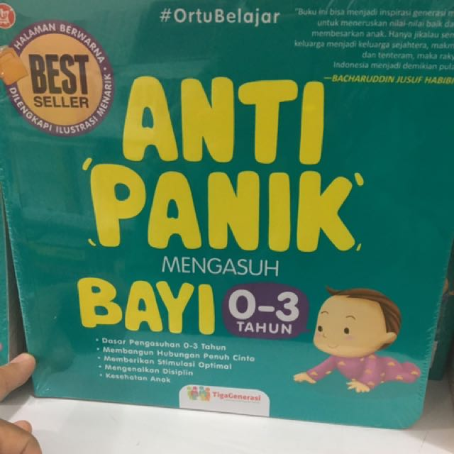 Buku Anti Panik Anak 0-3th