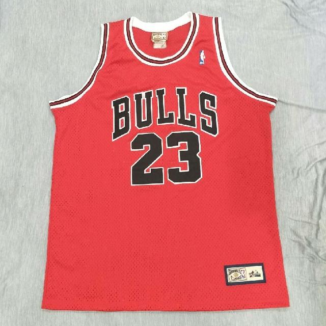 #公牛球衣#喬丹#Bull Jersey #Michael Jordon#23#Hardwood#Majestic
