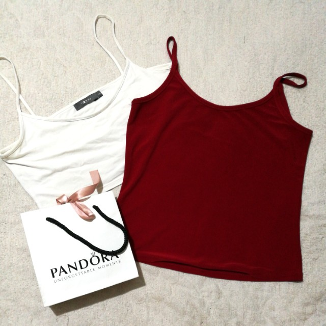 BUNDLE!!! Tank top at silky top