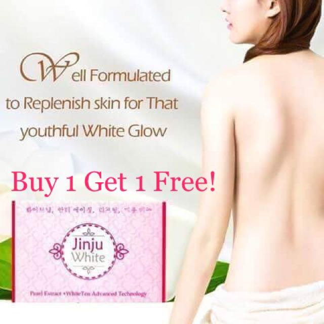 Buy 1 Jinju White Soap Get 1 Free Acai Berry Mask Teddy Tesseum