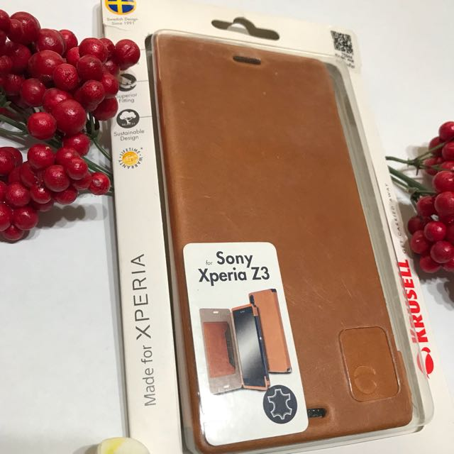 CASING LEATHER SONY XPERIA Z3 KRUSELL