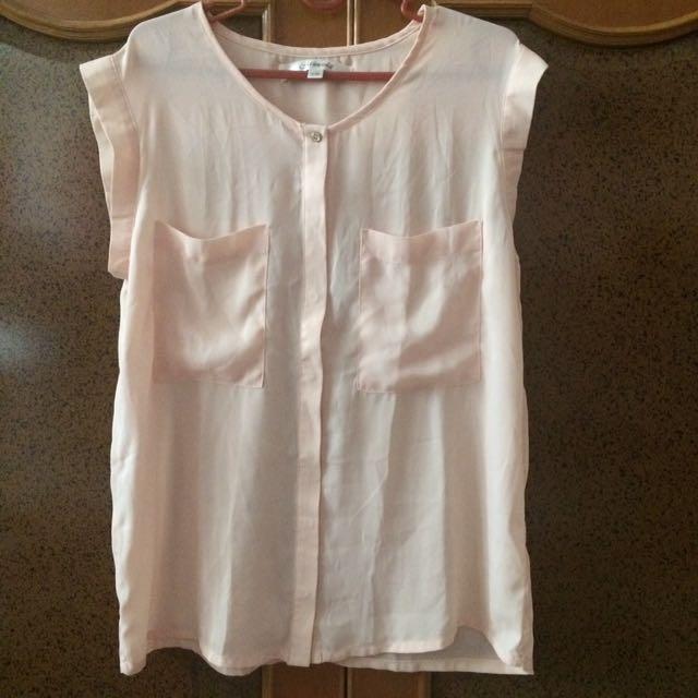 Chiffon Shirt Size M