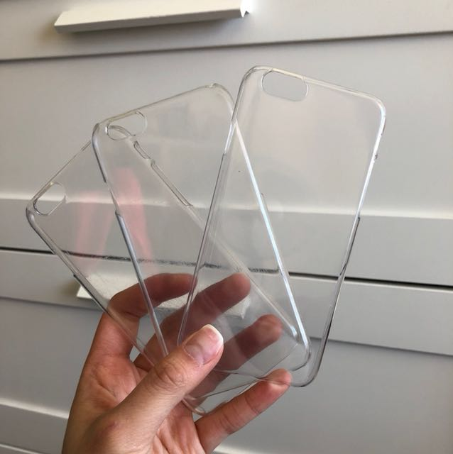 Clear iPhone6/6s cases