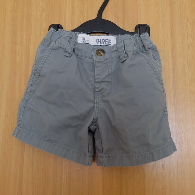 Cotton On KIDS Light Army Green Shorts