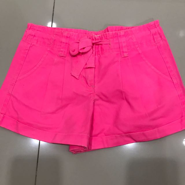 Cotton On Neon Hotpants size 3