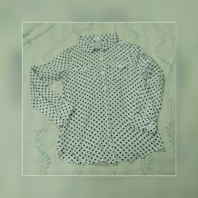 EVERYTHING MUST GO! Cotton On polka dots long sleeve