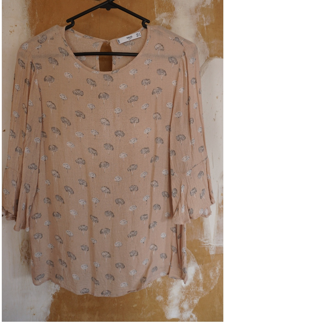 Cute Patterned Top from MANGO UK, Size S