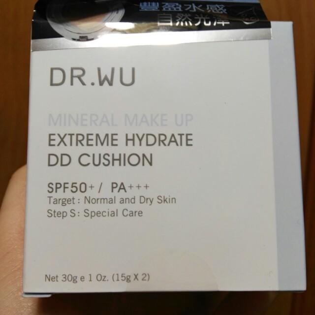 DR.WU 保濕水感氣墊粉餅30g(15g*2)
