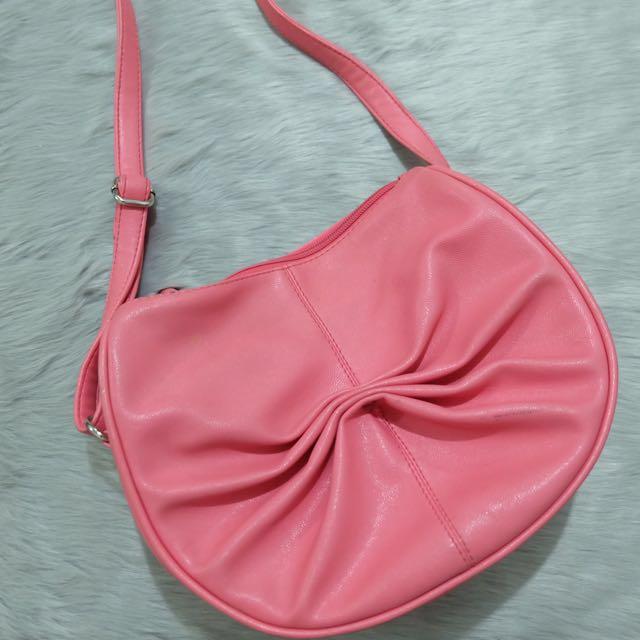 Egg Pink Sling Bag