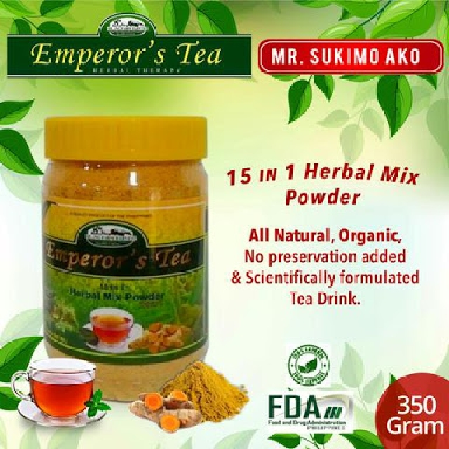 EMPEROR's TEA 15in1 turmeric