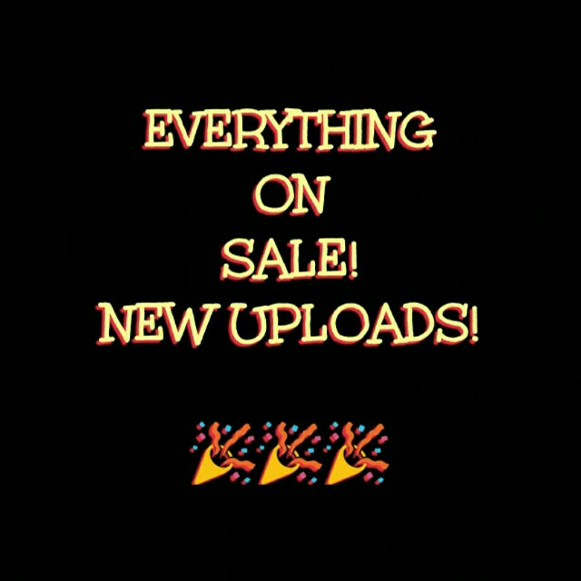 Everything on Sale! :)