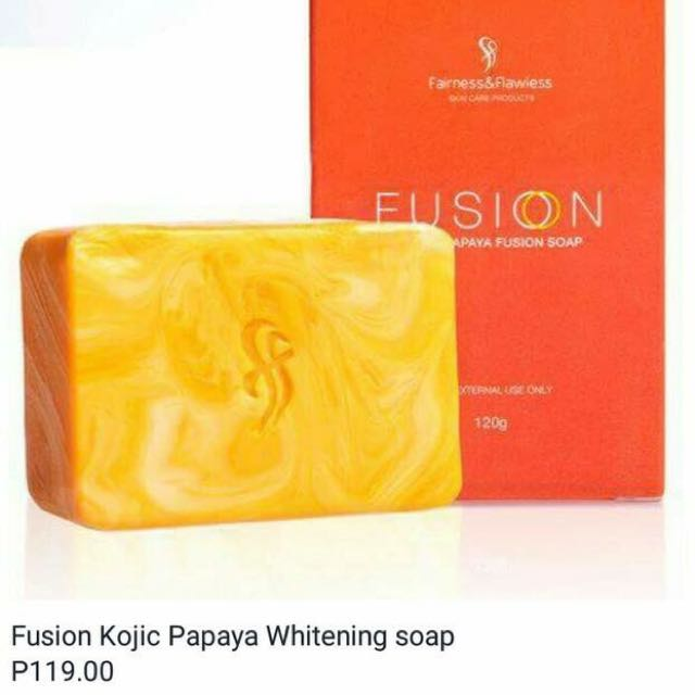 Fairness and flawless fusion whitening soap