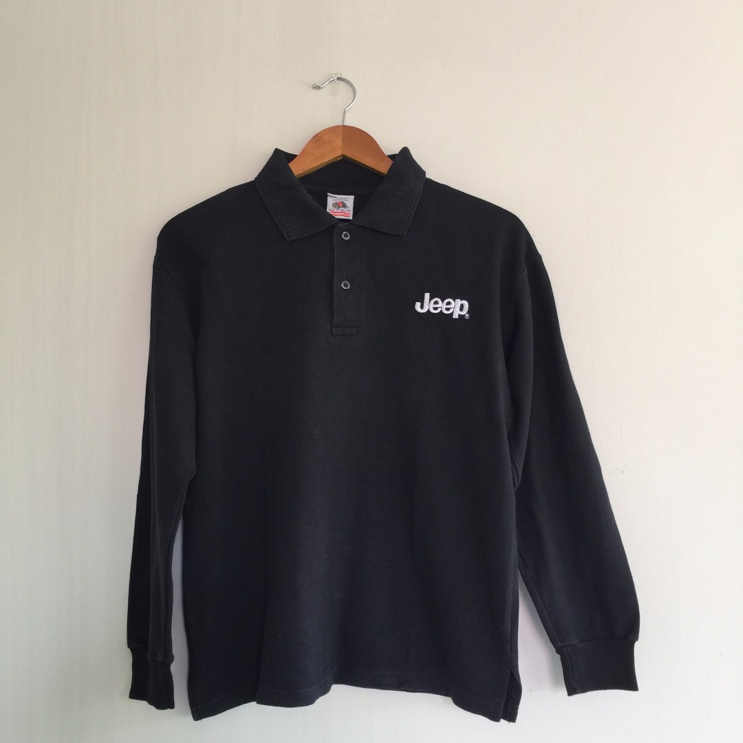 [FOR HIM] Fruit of the Loom Jeep Polo Shirt