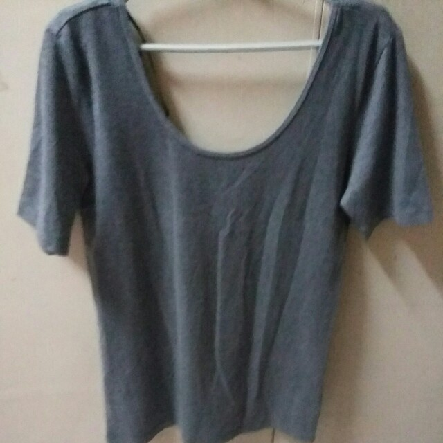 Forever21 Low back Top (Heather Grey Color)