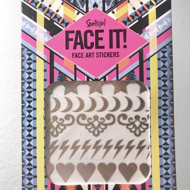 Free post: New Sportsgirl Face Stickers