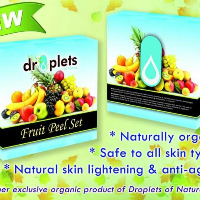fruit peel soap by droplets