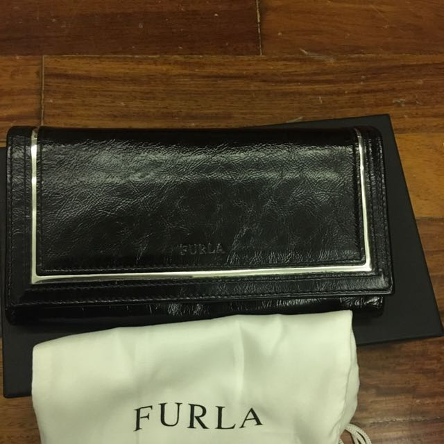 Furla Patent Leather Wallet