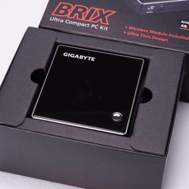 GIGABYTE 技嘉BRIX GB-BXA8-5545微型電腦 迷你主機 準系統 128G SSD 8G RAM  WIN10