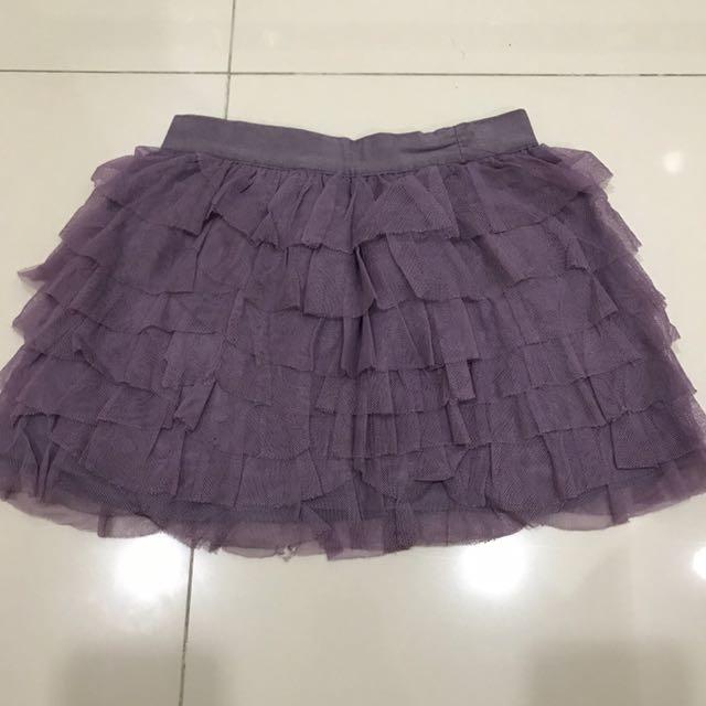Gingersnaps purple tutu skirt