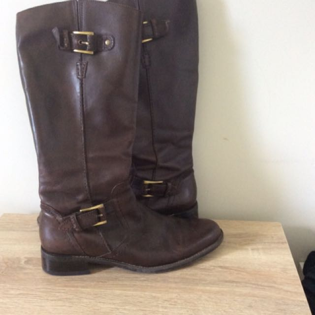 gino ventori leather boots RRP$349