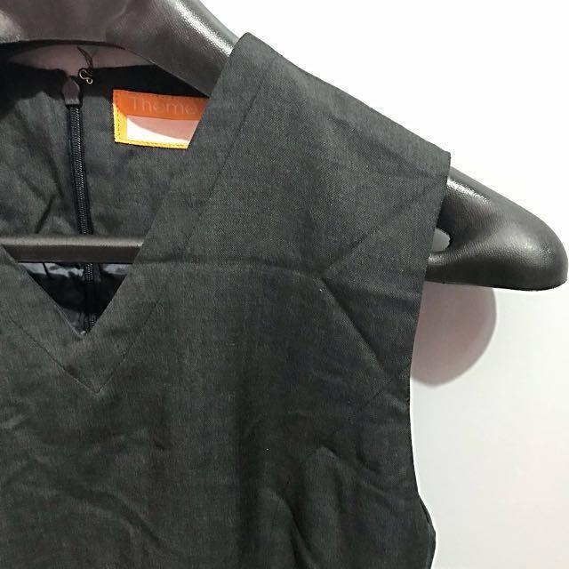Gray Office Dress (Size S)