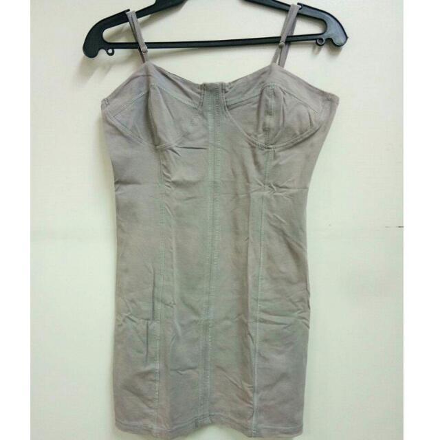 Grey Sando Top/Dress