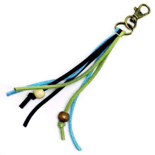 Handmade Suede Key Rings