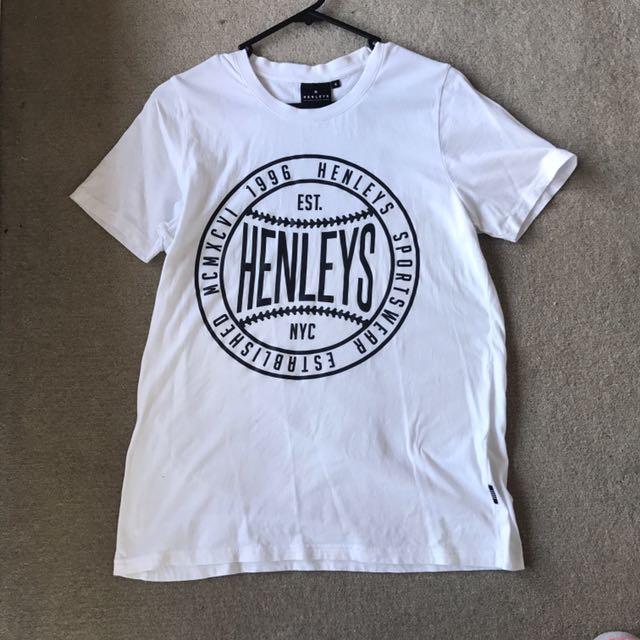 Henleys Original White T-Shirt